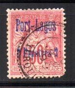 Port Lagos Oblitéré : N° 5 Oblitéré , Cote : 110,00 € - Used Stamps