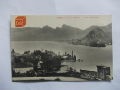 ANNECY Le Lac Talloires Vallon D'entreverne - Annecy
