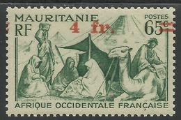 MAURITANIE 1944 YT 134** - VARIETE - Mauritanië (1906-1944)