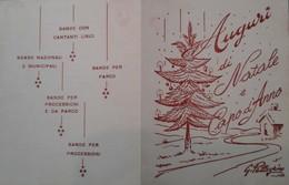 Cartolina Di Auguri Dell'impresa Spettacoli Teatrali GIPETEATRO - Peppino Di Capri, Celentano, Little Tony, Ecc. - Musica & Strumenti
