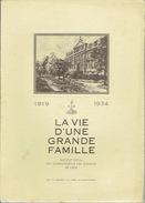 LIEGE 1934 - INSTITUT ROYAL DES SOURDS-MUETS & DES AVEUGLES - LA VIE D'UNE GRANDE FAMILLE - Culture