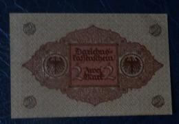 Germania Reich - 1920 - Banconota 2 Marchi - [ 3] 1918-1933 : Weimar Republic