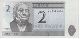 ESTONIE - 2 Krooni 2007 - UNC - Pick 85 - Estonie