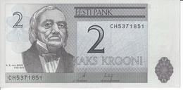 ESTONIE - 2 Krooni 2007 - UNC - Pick 85 - Estland