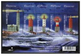 Finlandia - 2003 - Nuovo/new MNH - Fari - Mi Block 31 - Finland