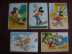 Lot De 5 Images Les Aventures De MICKEY Disney - Oude Documenten