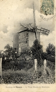 77 Environs De MEAUX Le Vieux Moulin (à Vent) De MONTHYON - Autres Communes