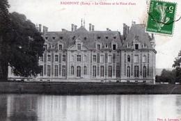 RADEPONT (Eure) - Le Château Et La Pièce D'eau - Other Municipalities