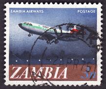 ZAMBIE 1968 - YT  41   - Avion  - Oblitéré - Zambie (1965-...)