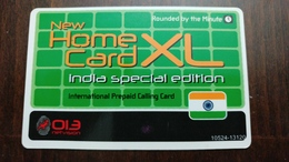 Israel New Home Card XL-(14)-INDIA-(2.3.2016)--013net Vision-lokking Out Side-used - India