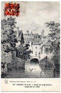 CPA 91 ( Essonne ) - CORBEIL - Canal De La Boucherie Supprimé En 1905 ( Gravure Ancienne ) - Corbeil Essonnes