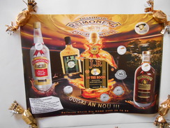 Affiche Distillerie Rhum REIMONENQ - 30x 40 Cm - Les Rhums Médaillés - GUADELOUPE - - Posters