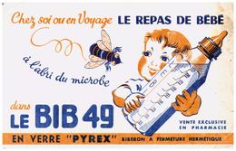 P Py/Buvard Pyrex  Bib 49  (N= 2) - P