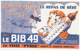 P Py/Buvard Pyrex  Bib 49  (N= 1) - P