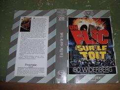"""Rare Film : """" Un Flic Sur Le Toit  """" - Crime"""