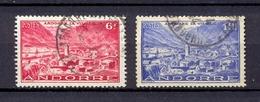 ANDORRE FR- 1946- YT 111-113 (o)