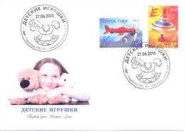2015. Transnistria, Old Childrens Toys, FDC, Mint/** - Moldova