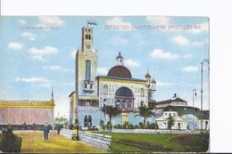 3 Cpa Exposition Bruxelles 1910. Pavillon De Monaco. Kiosque. Même Thême, Vues Différentes - Universal Exhibitions