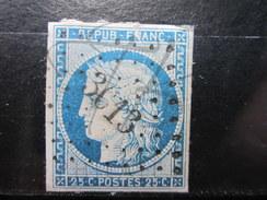VEND TIMBRE DE FRANCE N° 4 , P.C. 3613 ( VILLEMOMBLE ) !!!! - 1849-1850 Cérès