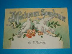 17 ) Affectueux Souvenir De Taillebourg  - Année 1918 - EDIT : Arteaud - France