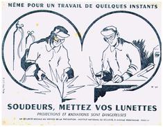 S S S/Buvard Sécurité Sociale Prévention (N= 1) - Buvards, Protège-cahiers Illustrés