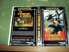 "Rare Film : "" Les 4 Vengeurs De Shaolin  "" - Krimis & Thriller"