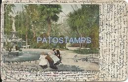 64244 US CALIFORNIA VIEW IN ST. JAMES PARK DAMAGED POSTAL POSTCARD - Estados Unidos