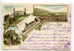 BARR ANDLAU Saint Odile Lithographie Pionnière Kunzli - Barr