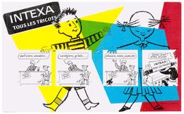 Tr In/ Buvard Tricot Intexa (N= 5) - Buvards, Protège-cahiers Illustrés