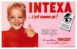 Tr In/ Buvard Tricot Intexa (N= 4) - T