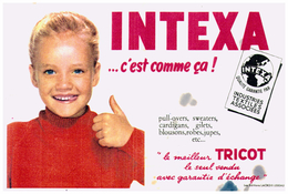 Tr In/ Buvard Tricot Intexa (N= 3) - Blotters