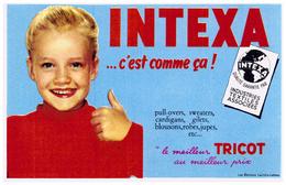 Tr In/ Buvard Tricot Intexa (N= 2) - Blotters