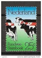 Netherlands Nederland Niederlande Pays Bas 1052 MNH; Koe, Cow, La Vache, Vaca - Koeien
