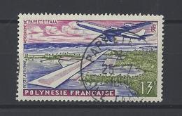 POLYNESIE . YT PA 5 Obl Inauguration De L'aéroport International De Faaa à Papeete 1960 - Poste Aérienne