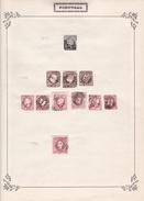 Portugal - Collection Vendue Page Par Page - Timbres Oblitérés / Neufs *(avec Charnière) -Qualité B/TB - 1855-1858 : D.Pedro V