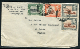 Ouganda - Enveloppe De Daressalaam Pour La France En 1952   Réf J3 - Kenya, Uganda & Tanganyika