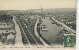 EPERNAY - Panorama De La Marne Et De Magenta - Epernay