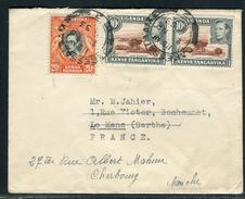 Ouganda - Enveloppe De Dar Es Salaam Pour La France En 1953   Réf J4 - Kenya, Uganda & Tanganyika