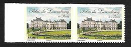 France 2012 - Yv N°730a ** - Le Palais Du Luxembourg (adhésif Entreprise) 730 - France