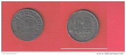 PAYS BAS  //  25 CENTS 1943  //   KM # 174  //  ETAT  TTB - [ 3] 1815-… : Kingdom Of The Netherlands