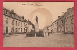 Blaton - Grand'place , Monument - 1929 ( Voir Verso ) - Bernissart