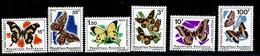 (cl 23 B) Rwanda ** N° 138 à 144 - Papillons - - Rwanda