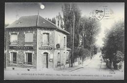 JOINVILLE Le PONT Rare La Poste Rue Vautier Au Clair De Lune (Fleury) Val De Marne (94) - Joinville Le Pont
