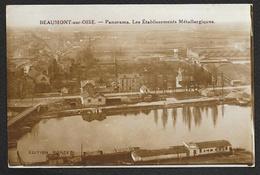 BEAUMONT Sur OISE Les Etablissements Métallurgiques (Poncet) Val D´Oise (95) - Beaumont Sur Oise