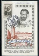 France - Carte De La Journée Du Timbre De Paris En 1946 Réf J17 - Postmark Collection (Covers)