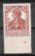 Reich Variété Du N° 102 Neuf ** - Allemagne