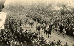 Postcard / ROYALTY / Belgium / Belgique / Entrée Du Roi Albert I Et Des Troupes Alliées / Koning Albert I / 1918 - Guerre 1914-18