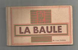 Cp , 44 , LA BAULE , Ed : CAP , CARNET DE 20 CARTES POSTALES - La Baule-Escoublac