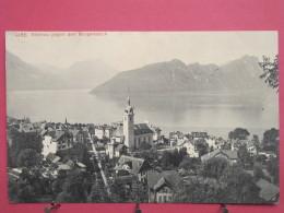 Suisse - Lucerne - Vitznau Gegen Den Bürgenstock - 1911 - Joli Timbre - Scans Recto-verso - LU Lucerne