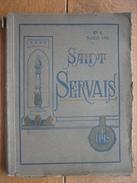 Annuaire N°4 Du COLLEGE SAINT-SERVAIS à LIEGE Année Académique 1910-1911 - Culture